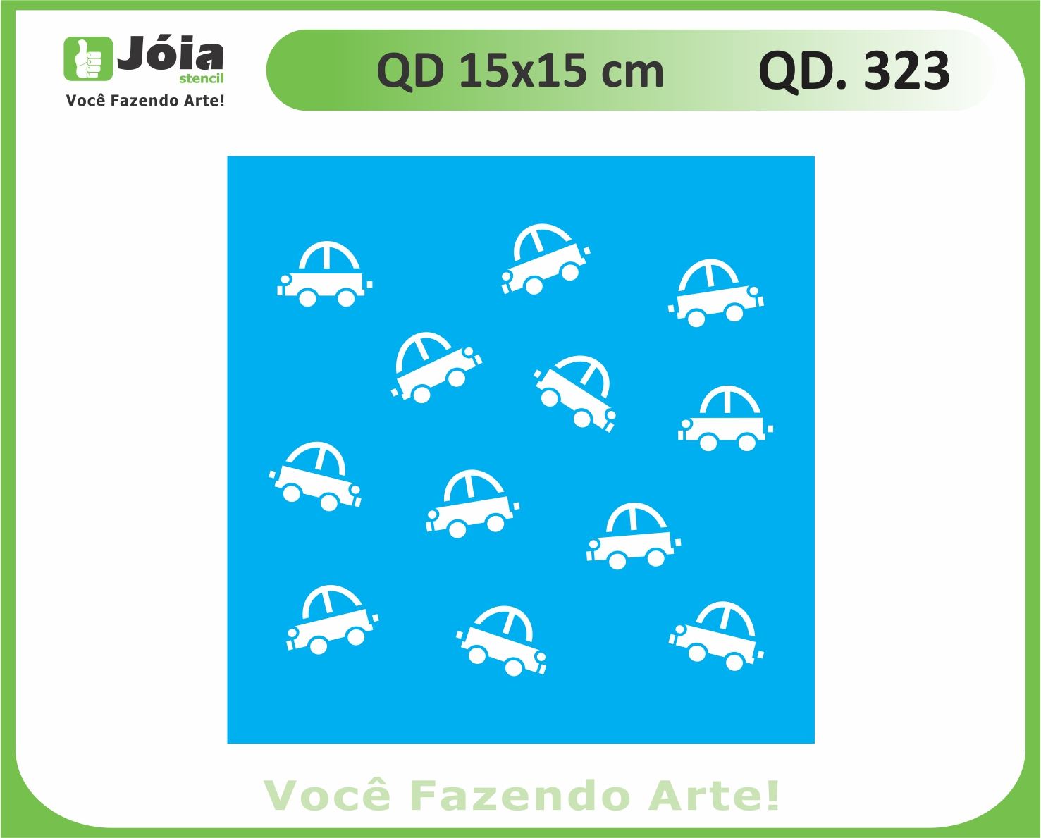 stencil QD 323