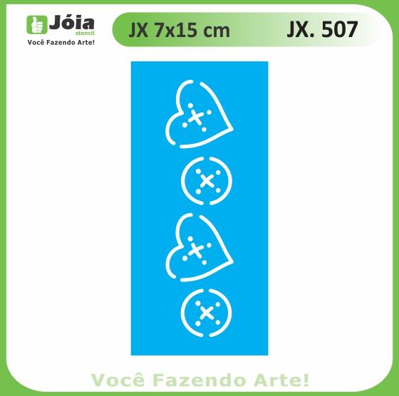 Stencil JX 507