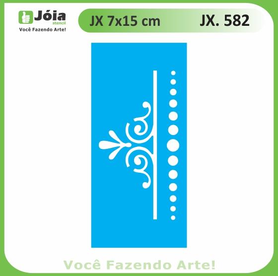 Stencil JX 582