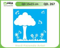 stencil QD 267
