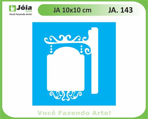 stencil JA 143