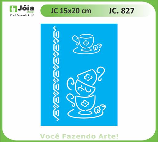 stencil JC 827
