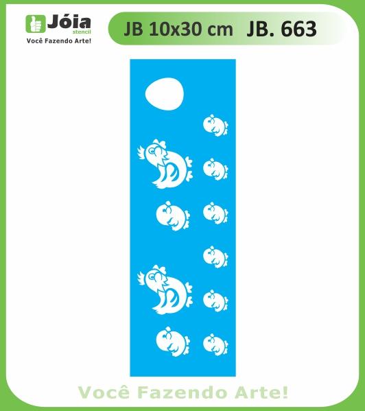 Stencil JB 663