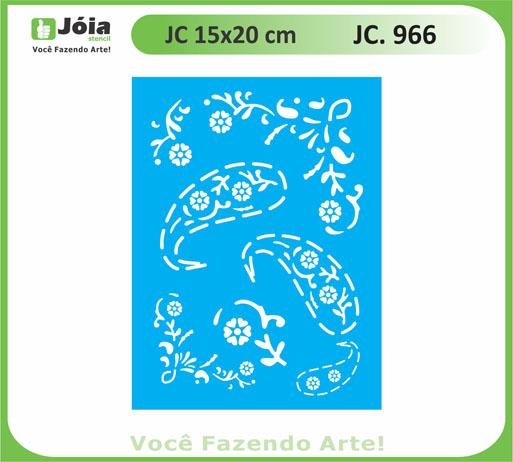stencil JC 966