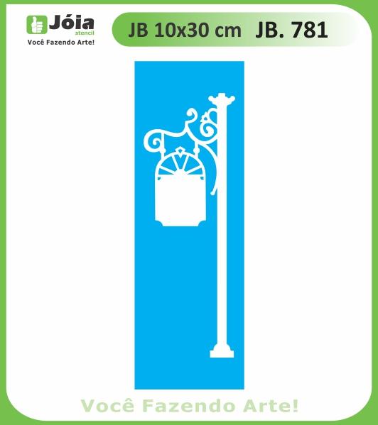 Stencil JB 781
