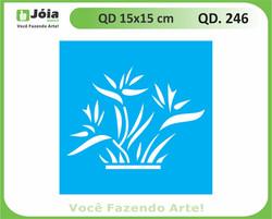 stencil QD 246