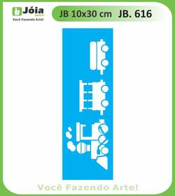 Stencil JB 616