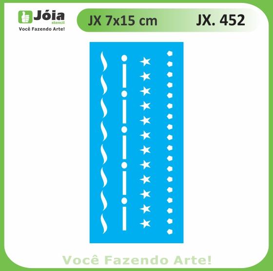 Stencil JX 452