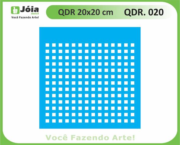 stencil QDR 020