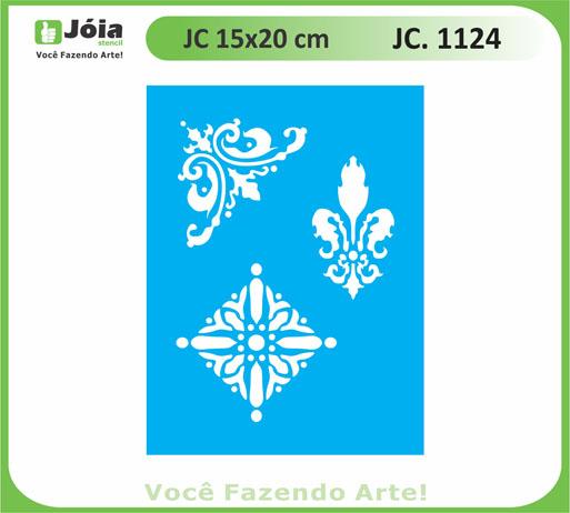 stencil JC 1124