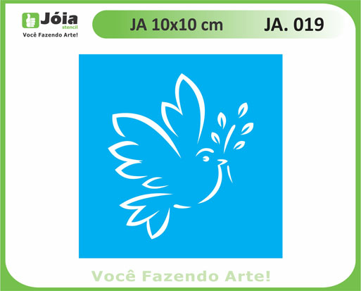 stencil JA 019