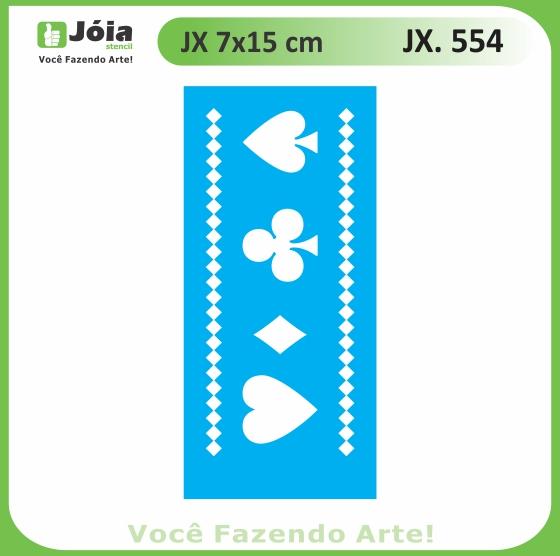 Stencil JX 554