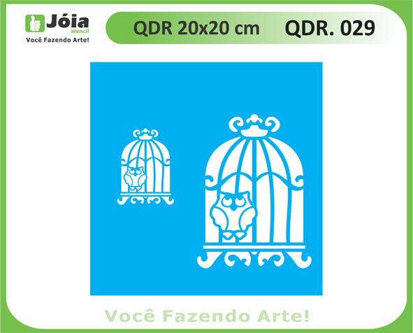 stencil QDR 029