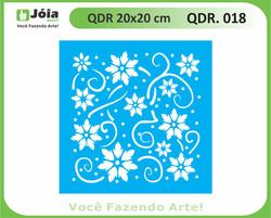 stencil QDR 018