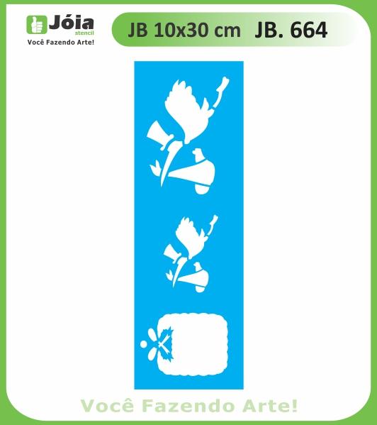 Stencil JB 664