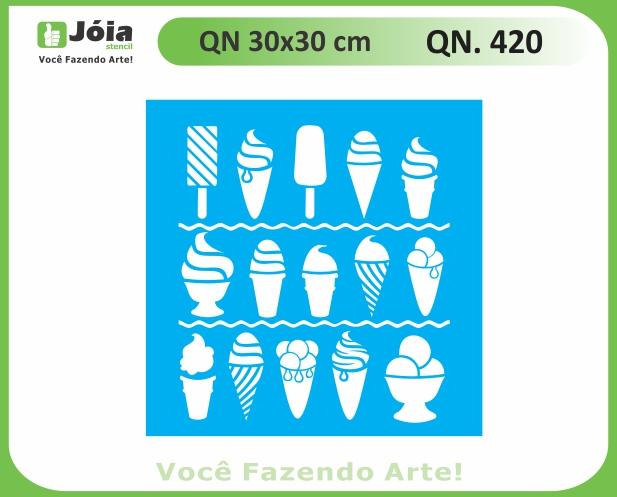 Stencil QN 420
