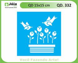 stencil QD 332