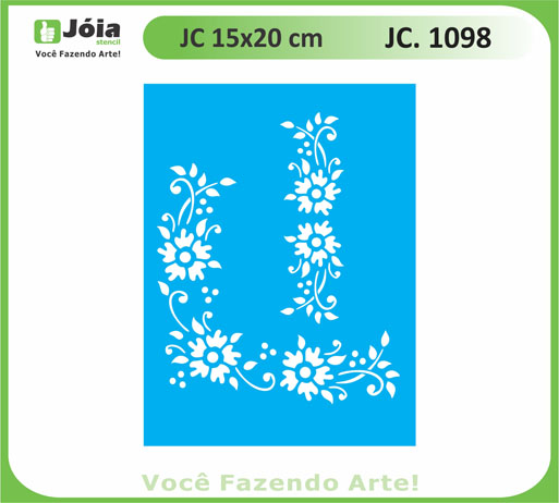 stencil JC 1098
