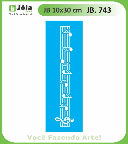 Stencil JB 743