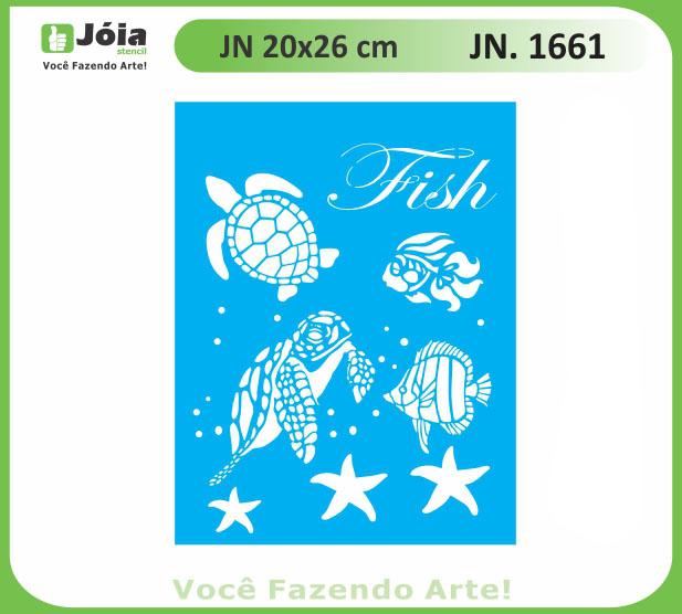 Stencil JN 1661