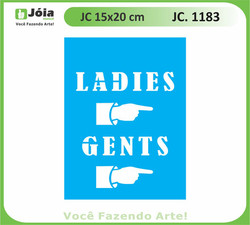 stencil JC 1183