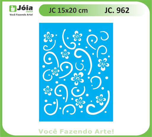 stencil JC 962