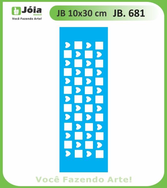 Stencil JB 681
