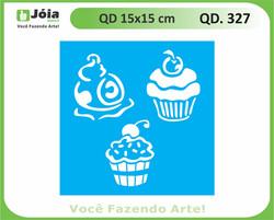 stencil QD 327