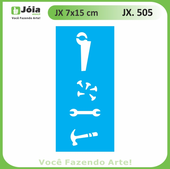 Stencil JX 505