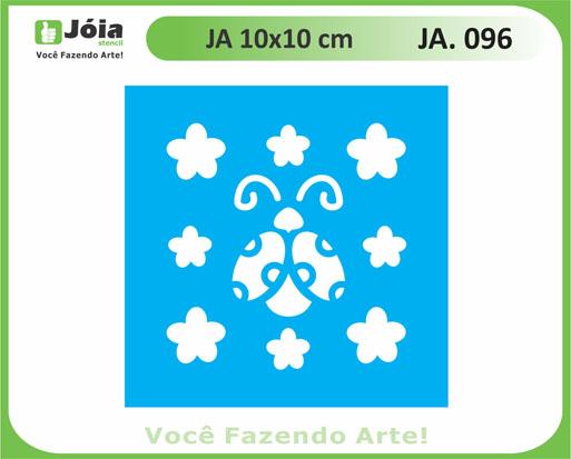 stencil JA 096