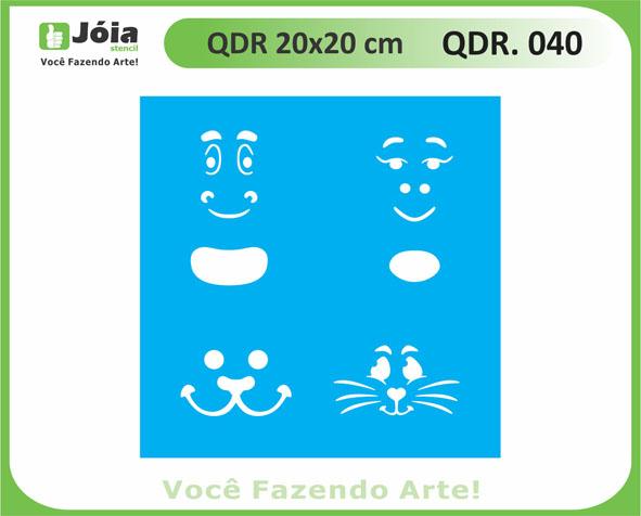 stencil QDR 040