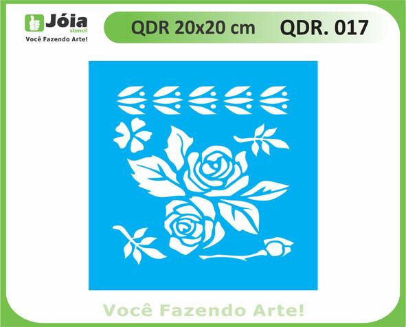 stencil QDR 017