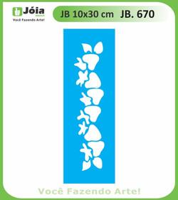 Stencil JB 670