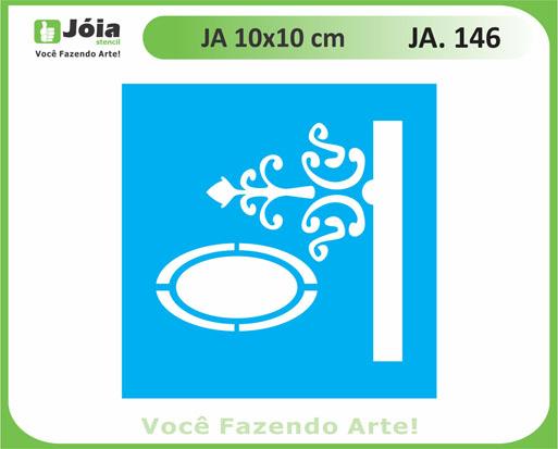 stencil JA 146