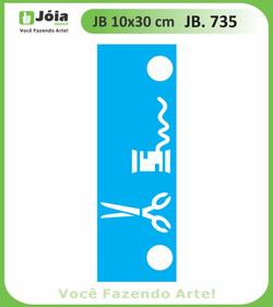 Stencil JB 735
