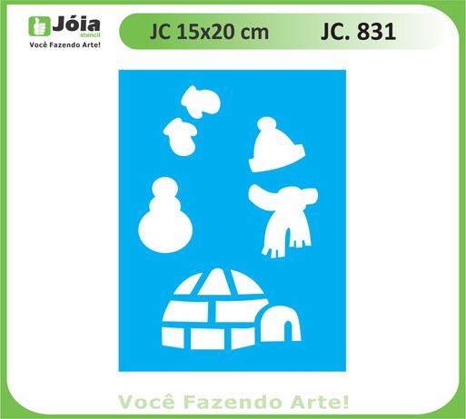 stencil JC 831