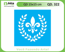 stencil QD 322