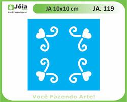 stencil JA 119