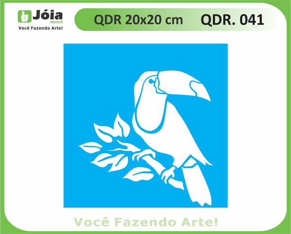 stencil QDR 041