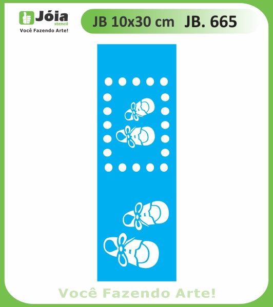 Stencil JB 665