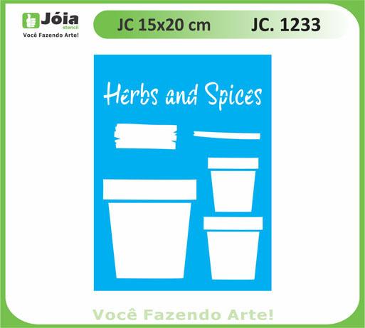 stencil JC 1233