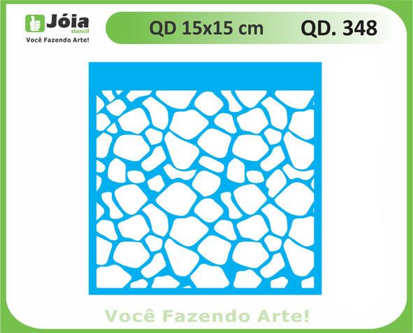stencil QD 348