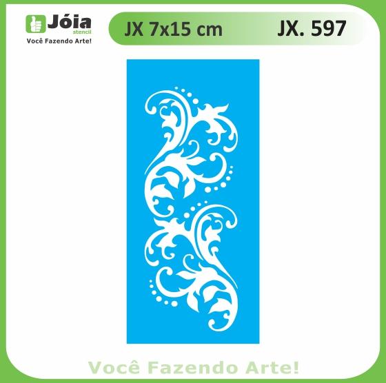 Stencil JX 597