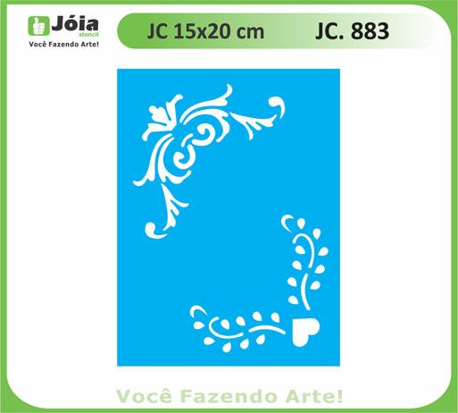 stencil JC 883
