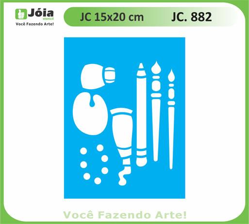 stencil JC 882
