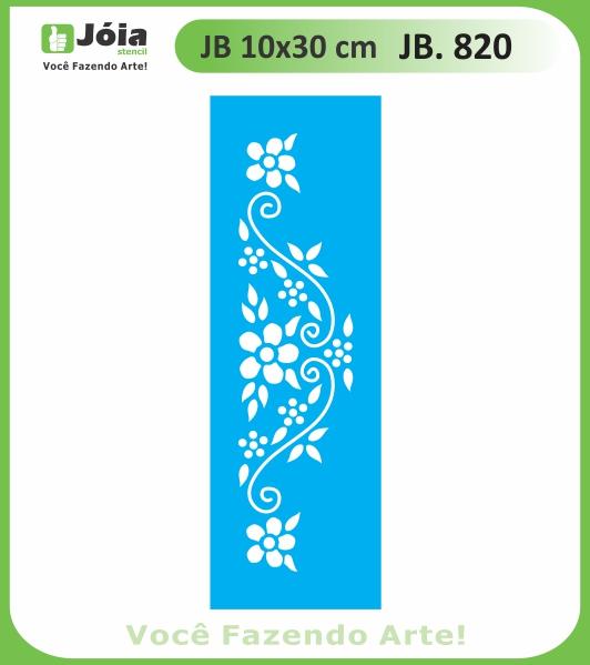 Stencil JB 820