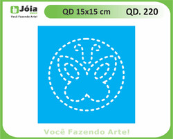 stencil QD 220