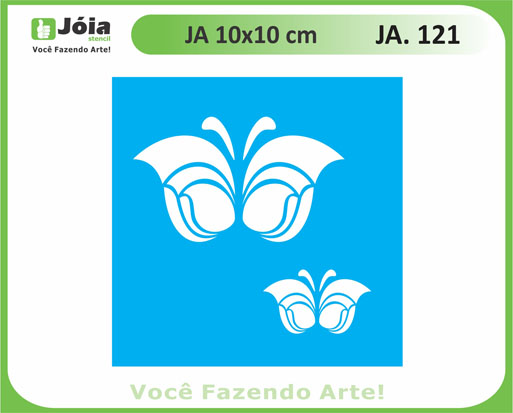 stencil JA 121