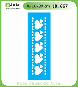 Stencil JB 667