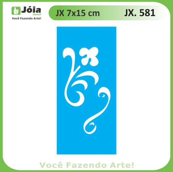 Stencil JX 581